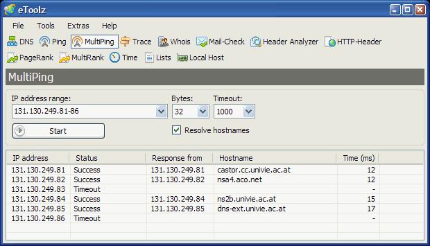 eToolz screenshot
