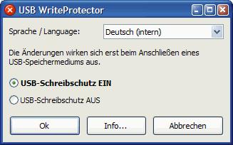 USB WriteProtector full screenshot